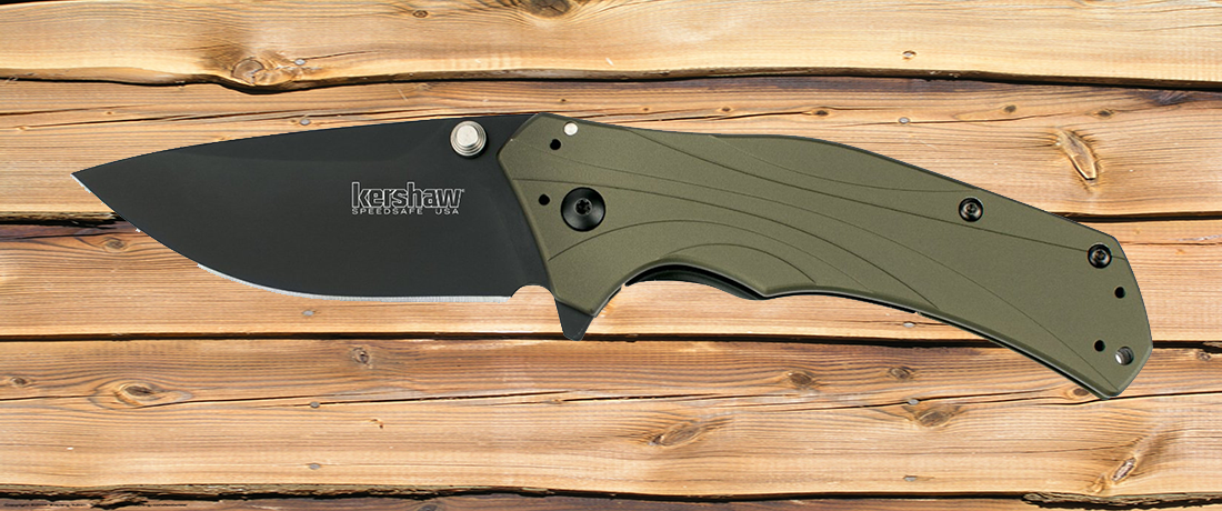 Kershaw 1870OLBLK Knockout