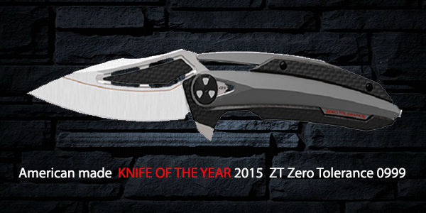ZT Zero Tolerance KNIFE OF THE YEAR