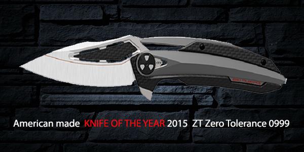 ZT Zero Tolerance KNIFE OF THE YEAR