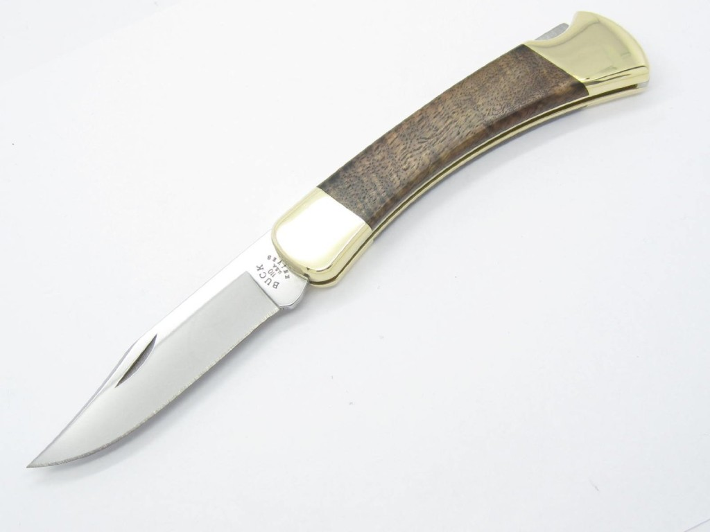 Custom Buck 110 Folding Hunter Lockback Knife