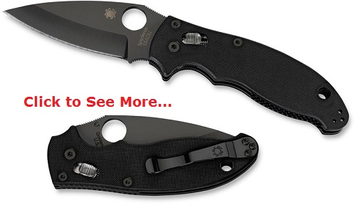Spyderco Pocket Knives