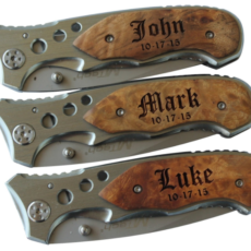 engraved pocket knives