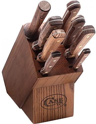Case Cutlery Nine Piece Block Set Walnut CA10249