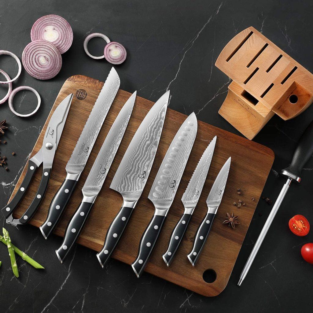USA Made Kitchen Knife Set