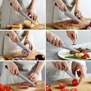 Kitchen Damascus Knife Set USA