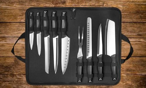 best professional chef knife set with bag