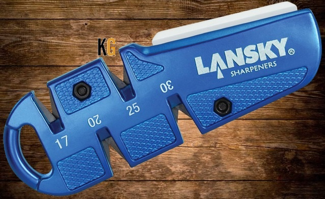 sharpening kitchen knives with lansky