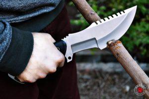 custom fixed blade knife